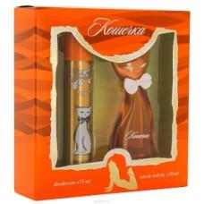 Подарочный набор  для женщин  Кис-Кис Кошечка (туалетная вода 50 мл + дезодорант 75 мл)