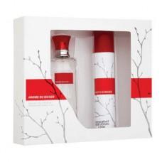 Подарочный набор  для женщин Arome du Baiser (Аром Дю Бейз) (туалетная вода 50 мл + дезодорант 75 мл)