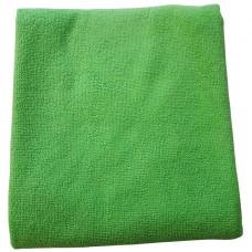 Салфетка из микрофибры (без упаковки) зеленая, 70х80 см
