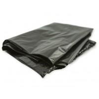Мешки для мусора ПВД MirPack (МирПак) в пластах, черные, 35 мкм, 120 л, 70х110 см