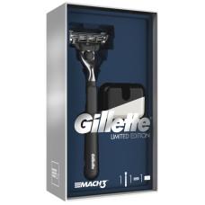 Подарочный набор Gillette: Mach3 (Джилет) Бритва со сменной кассетой + подставка
