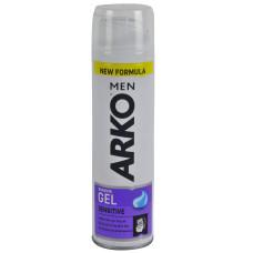 Гель для бритья ARKO Sensitive (Арко для чувствительной кожи), 200 мл