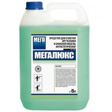 Средство для очистки оргтехники и офисной мебели антистатическое Мегалюкс, 5 л