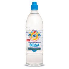 Вода для утюгов парфюмированная Золушка, свежесть полевых цветов, 1 л