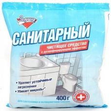 Санитарный порошок с дезинфицирующим эффектом Золушка, 400 мл