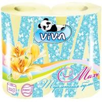 Туалетная бумага Viva (Вива) Maxi, 2-х слойная, 4 рулона