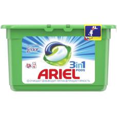 Гель для стирки в растворимых капсулах ARIEL Touch of Lenor Fresh, 12 шт*28,8 г