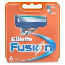 Кассеты для бритья Gillette Fusion (6 шт)