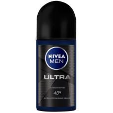 Дезодорант шариковый мужской Nivea (Нивея) Ультра, 50 мл