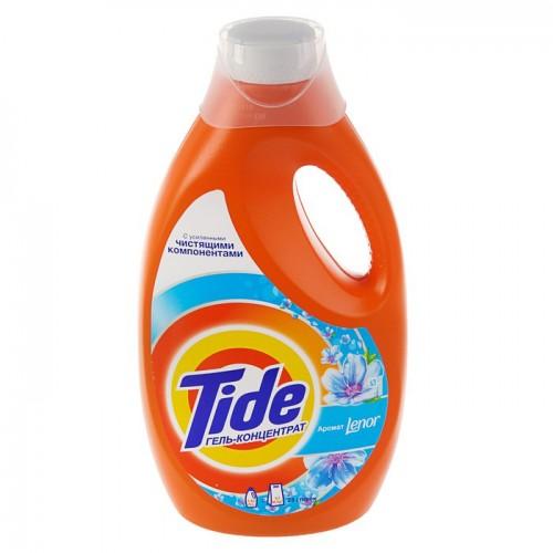 Жидкий порошок Tide (Тайд) аромат Lenor, 1,82 л