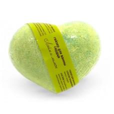 Бурлящие шарики для ванны Savon D Lion сердце Лайм и лимон