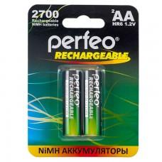 Аккумуляторы Perfeo (Перфео) AA2700mAh/2BL 2 шт