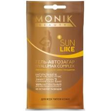 Гель-автозагар Hyalumax Complex Monik Beauty Sun Like для всех типов кожи
