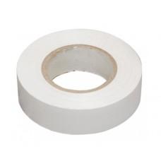 Изолента ПВХ белая, 20 м, 19 мм