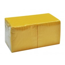 Салфетки бумажные Биг Пак желтые, 400 штук
