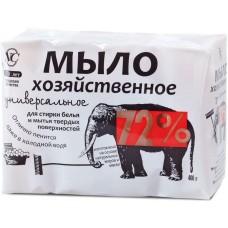 Мыло хозяйственное 72%, универсальное, 4 шт по 100 г