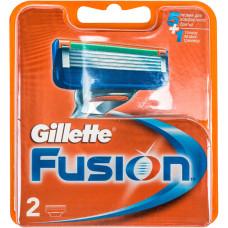 Кассеты для бритья Gillette Fusion (2 шт)