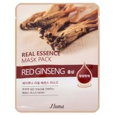 Тканевая маска Jluna с экстрактом Красного Женьшеня