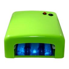 Лампа УФ для сушки ногтей Farres MF818-G (зелёная)