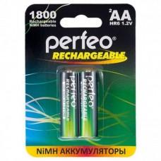 Аккумуляторы Perfeo (Перфео) AA1800 mAh/2BL 2 шт