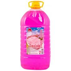 Мыло жидкое Kaori (Каори) ПЭТ Цветущая камелия, 5 л