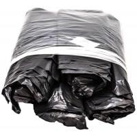 Мешки для мусора ПВД MirPack (МирПак) в пластах, черные, 40 мкм, 120 л, 70х110 см
