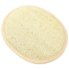 Мочалка банная Овал люфа/махра, 195х160 мм