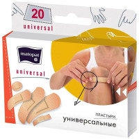 Пластыри Matopat Universal (Универсал), 20 шт