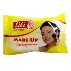 Влажные салфетки Lili (Лили) для снятия макияжа, 20 шт
