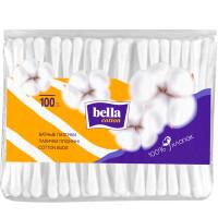 Ватные палочки BELLA (Белла), мягкая упаковка, 100 шт