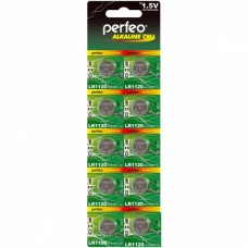 Батарейка литиевая таблетка Perfeo (Перфео) Alkaline Cell, LR1120