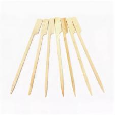 Пика для коктейлей бамбуковая Гольф, 12 см, 100 шт