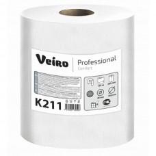 Полотенце бумажное рулонное Veiro Professional Comfort K211 однослойное 120 метров