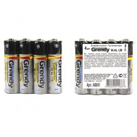 Батарейки Гренди солевые R6 AA 1,5 Вт, 4 шт