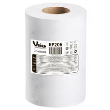 Полотенце бумажное рулонное Veiro Professional Comfort KP206 двухслойное 180 метров