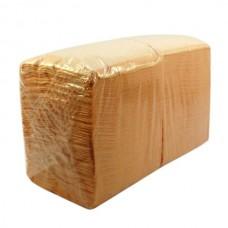 Салфетки бумажные столовые Big Pack, 2 слойные - 250 листов, 24х24см (персиковые)