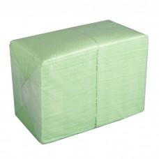 Салфетки бумажные столовые Big Pack, 2 слойные - 250 листов, 24х24см (салатовые)