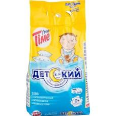 Стиральный порошок Free Time (Фри тайм) Детский, 3 кг