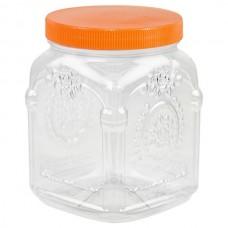 Банка для сыпучих продуктов полиэтиленовая Барокко закручивающаяся крышка, 1,5 л