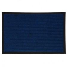 Коврик влаговпитывающий ребристый Vortex (цвет синий), 40х60 см