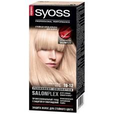Краска-осветлитель для волос Syoss (Сьес) 10-12 Кристальный блонд