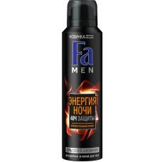 Дезодорант-антиперспирант спрей мужской Fa Men Энергия ночи, 150 мл