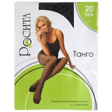 Колготки Rosita Tango 20 den (черный), 5 размер