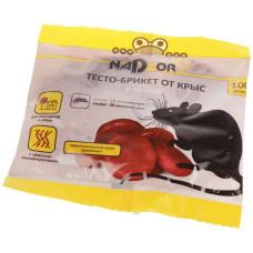 Тесто-брикет Nadzor (Надзор) от мышей и крыс, 100 г