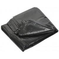 Мешки для мусора ПВД MirPack (МирПак) в пластах, черные, 60 мкм, 120 л, 70х110 см