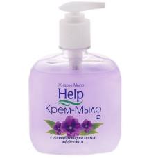 Жидкое крем-мыло Help (Хэлп) Антибактериальный эффект, с дозатором, 300 мл