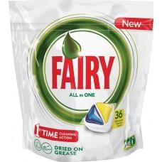 Капсулы для посудомоечных машин Fairy Original All in One, 36 шт