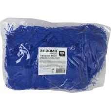 Насадка Моп Лайма Expert плоская для швабры-рамки, сухая уборка, карманы, акрил, 60х14 см