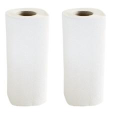 Полотенце бумажное  Joy Land, 2 слоя, 2 рулона, (белый), Безликий