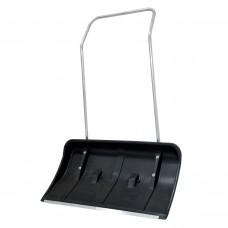 Лопата движок (скреппер) для снега пластик на колесиках, 810*440 мм